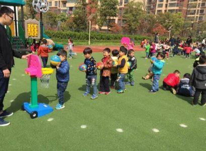 幼儿园体育投球乐教案